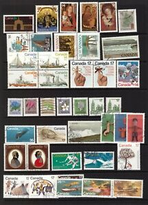 Canada 1977 - 1979 used stamps selection