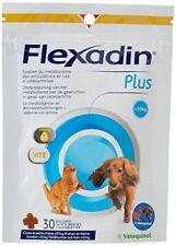 Vetoquinol Flexadin Plus Complément Alimentaire pour Chat/chien moins de 10 kg
