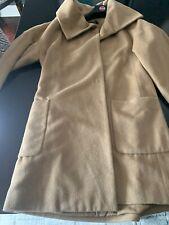 Etcetera Lightweight Angora Wool Blend Long Coat - Size 6