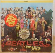 The Beatles Sgt. Pepper's Lonely Hearts Club Band Marble Vinyl LE 061220DBV