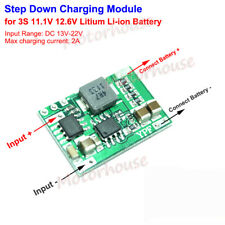 3S 2A 11.1V 12V Lithium Li-ion Lipo 18650 Battery Charger Module Charging Board