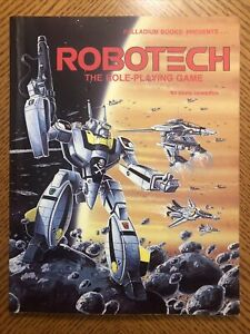 Vintage ROBOTECH: THE ROLEPLAYING GAME RPG Adventure Book⭐ Palladium