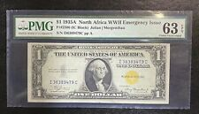 1935A $1 North Africa Silver Certificate Note