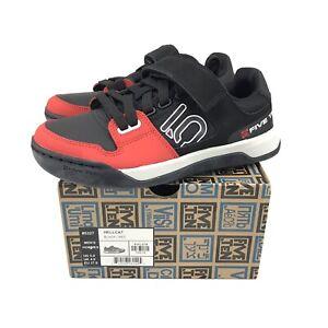 Black//Solar Red//Gray Six 10.5 Five Ten Freerider Men/'s Flat Shoe