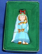 Midwest Cannon Falls Mary Engelbreit Pageant Ornament M Is For Mary 1986 Nib