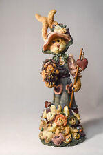 Boyds Bears: Nana McHare and Peapod - # 2849 - Aubergine, Chardonay & Big Boy