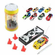 Coke Can Mini RC Radio Remote Control Speed Micro Racing Car Toy Gift Multicolor