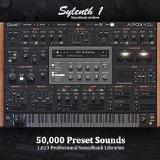 Sylenth-enorme 50,000 Preset productor Archive Completo 1,623 bibliotecas SoundBank
