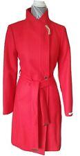 Ted Baker Ellgenc Coral Long Belted Wrap Coat RRP £339 Size 14 BNWT