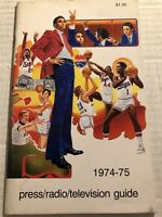 1974 75 KANSAS CITY Omaha KINGS Media Yearbook NATE Tiny ARCHIBALD Jimmy WALKER
