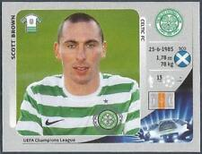PANINI UEFA CHAMPIONS LEAGUE 2012-13- #505-CELTIC-SCOTT BROWN