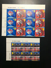 Gb Qeii Olympics Barcelona, Expo 92 Seville Cylinder block of 6 Stamps 1992 Mnh