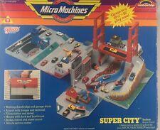Micro Machines SUPER CITY TOOL BOX  Vintage 1988 By Galoob No 6420