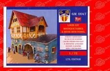 BUM Models 1/72 LOUIS XIV & 3 MUSKETEERS HOUSE WITH TUNNEL Figure Set