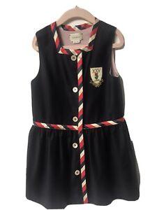 Gucci Girls Kids Navy Dress Wool - Cashmere (size 5 years)