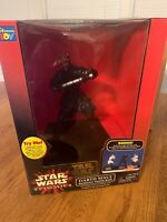 STAR WARS EPISODE 1 PHANTOM MENACE DARTH MAUL INTERACTIVE TALKING COIN BANK