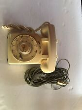 Western Electric 500 Beige Telephone Rotary Dial Desk Phone Exc+