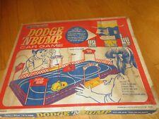 Vintage 1970 Dodge N Bump Slot Car Game Bumper Cars Rare!