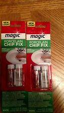 2 packages NEW MagicTILE GUARD 2164 PORCELAIN TOUCH UP CHIP FIX WHITE EPOXY