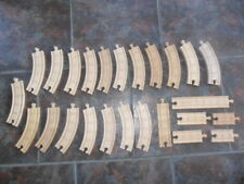 Thomas the Tank Engine & Friends Wooden - BUNDLE OF TRACK - ELC - GOOD CONDITION