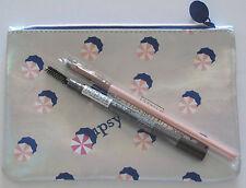 IPSY Makeup Cosmetic Bag, Brow Pencil & Angle Brush Hot Summer Nights July 2016