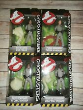 """2016 Mattel Ghostbusters 6"""" Figures Ray Egon Peter Winston New Sealed Set of 4"""