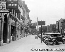 View of Main Street, Circleville, Ohio - 1938 - Historic Photo Print