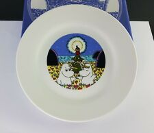 CHARACTERS MOOMIN PLATE COLLECTIBLE CERAMIC DISH WHIT BOX