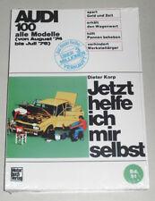 Reparaturanleitung Audi 100 C1, Baujahre 1974 - 1976