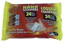 Heat Factory Hand Warmers 12 Pair Pack White New Free Shipping