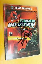Super Inframan Shaw Brothers Jak Progresso Hip Hop Horror Signed Autographed Dvd