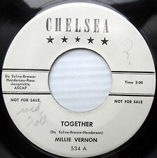 MILLIE VERNON R&B Popcorn PROMO 45 Where can I go b/w Together 60's ?  e4517