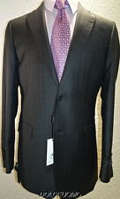 NEW $1600 men SAKS FIFTH AVENUE 40 L ZEGNA CLOTH WOOL SILK ITALY SUIT YEAR ROUND