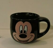 Mickey Mouse Coffee Mug Black Walt Disney Store Ceramic Large Cup