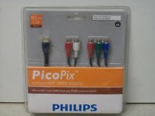 "Philips PicoPix Component Video Adapter 4 cCm 1.3"" PPA1110/00 PPX1000 Series"