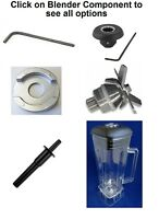 Replacement Parts for Vitamix & Vitamix Blenders,Drive Socket, Blade,Jar, Tamper
