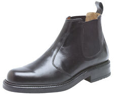 Roamers Leather Chelsea Boots Twin Gusset Mens Dealer Boots 8 Sizes 2 Colours