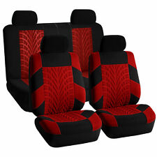 Top Quality Sport Car Seat Cover Front Back Red For Car Truck SUV