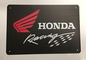 Honda Style 2 Metal Tin Signs - Car Motorbike Civic Mechanic Workshop Man Cave