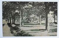Montrose PA Postcard- Locust Street  Susquehanna County photo  vtg