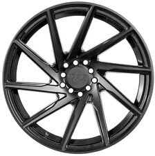20X8.5 +35 F1R F29 5X120 BLACK WHEEL Fits Honda Odyssey Bmw 5X4.75 2014 2015
