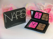 New NARS Blush & Bronzer Compact Duo Desire & Laguna .19 /.17 oz 5.5 / 5 g Pink