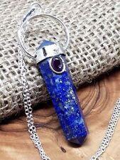Collares y colgantes de joyería naturales lapislázuli