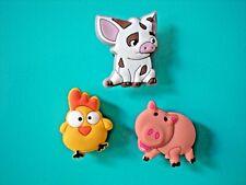Clog Shoe Charm Button Accessories Bracelet WristBand Farm Animals