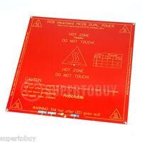 MK2B Heatbed RepRap 3D Printer PCB Heat Bed Prusa Mendel Dual Power WYZ
