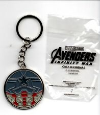 Avengers: Infinity War Movie Theater Exclusive Metal Key Chain - Captain America