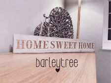 Home Sweet Home Sign Plaque Handpainted Antique French Country Shabby Chic