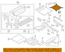 AUDI OEM 07-11 Q7 Interior-Rear-Cargo Net 4L08618691FU
