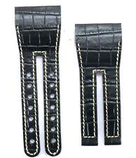 Rare Jorg Hysek Black Crocodile Watch Strap for HD3 Slyde NEW #40233