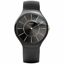 Rado R27741159 Men's True Ceramic Black Quartz Watch